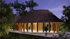Bamboo Structure Pavilion